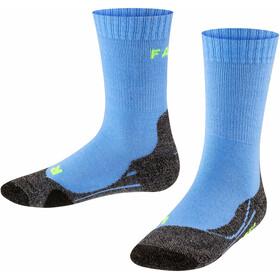 Falke TK2 Trekking Sokken Kinderen, blauw